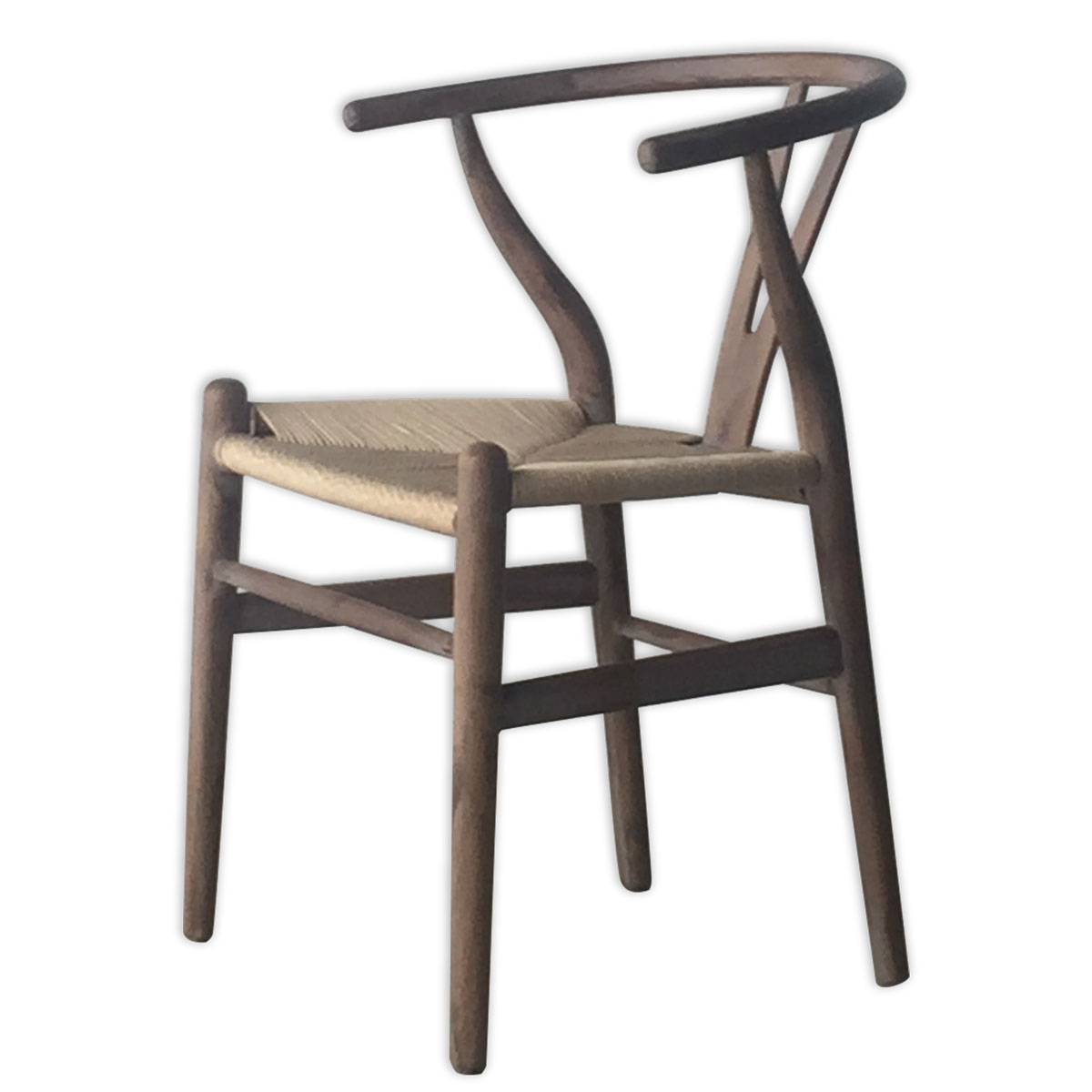 SILLA WISHBONE ANTIQUE GRIS