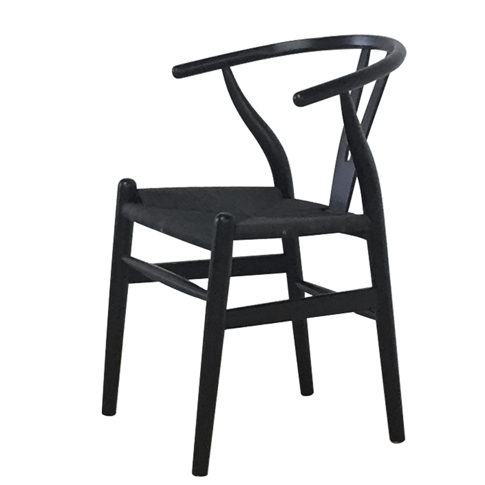 SILLA WISHBONE FULL BLACK