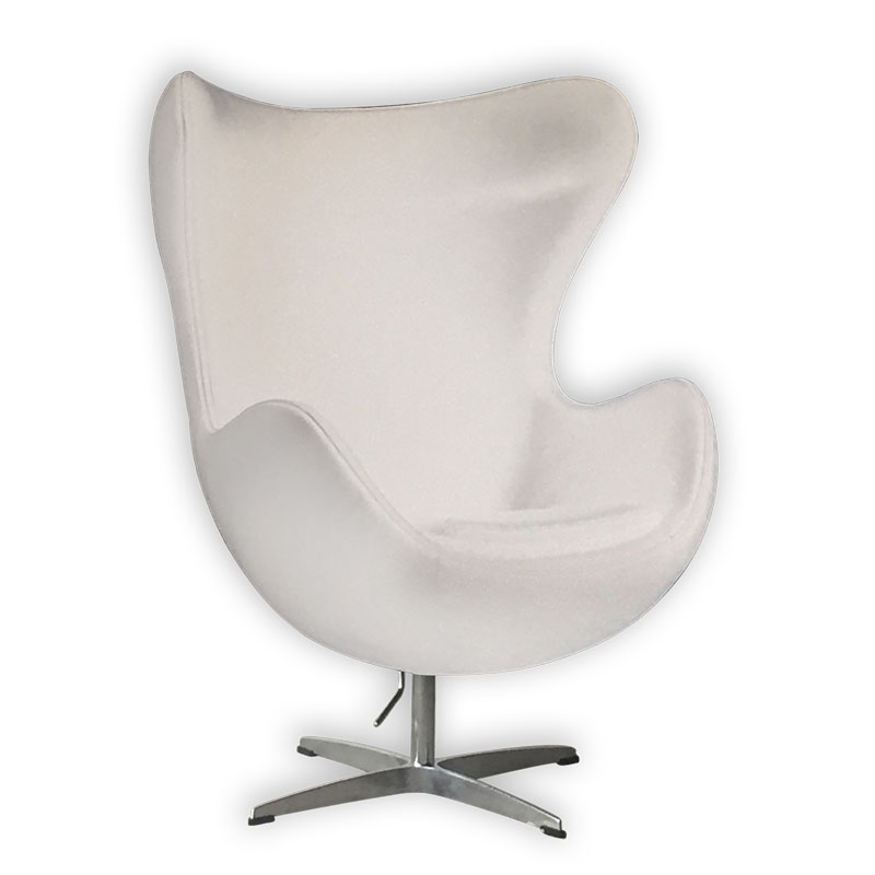 SILLON EGG BLANCO