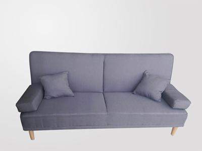 SOFA BED LUKA GRIS CLARO