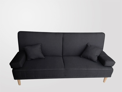 SOFA BED LUKA GRIS OSCURO